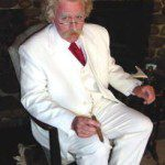 Mike Randal as Mark Twain