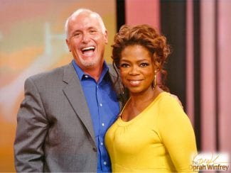 Will Bowen with Oprah